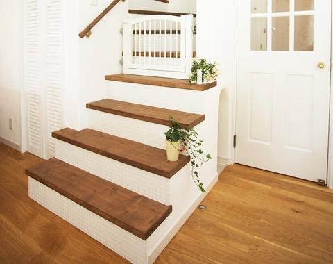 オリジナル木製階段